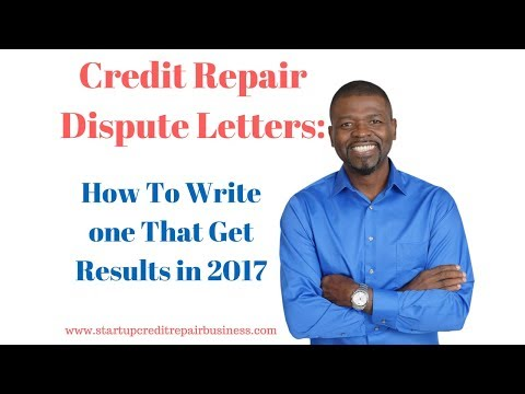 Credit Repair Dispute Letters: How To Write one That Get Results in 2018: 1-888-959-1462
