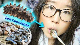 Download KOREAN STREET FOOD ♦ Seafood at Haeundae Beach, Busan Video