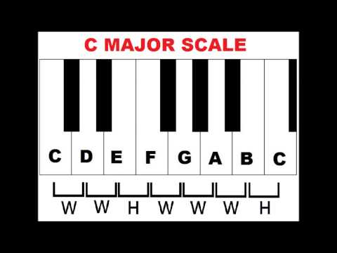 Piano Scales: How To Form Major Scales On Piano