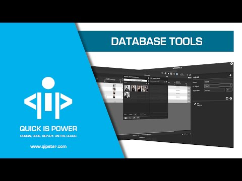 Database Tools - Qipster Tutorial