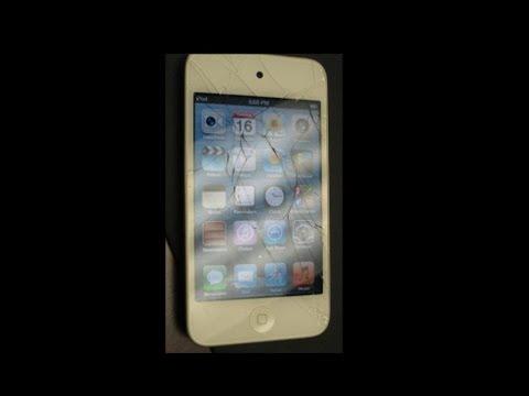 ipod touch 4th gen broken screen replacement