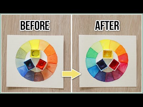How to Avoid Muddy Colors when Painting - Color Mixing Secrets Demystified for Beginners