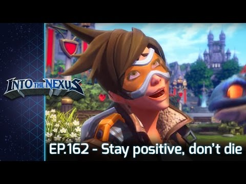 """#162 - Into the Nexus: """"Stay positive, don't die"""""""