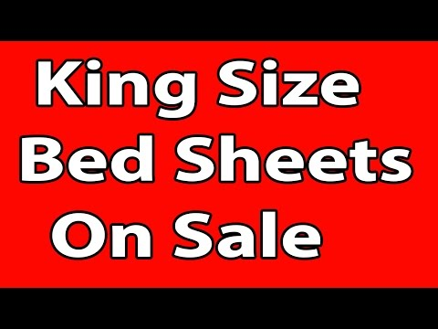 King Size Bed Sheets On Sale - Only On ShopHBD.COM