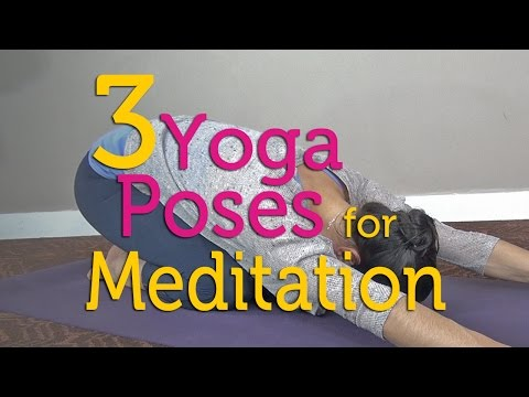 Get Ready to Meditate with These 3 Yoga Poses