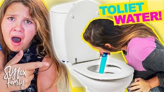 LIFESTRAW CHALLENGE!! Will She Really Drink Toilet Water?!