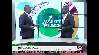 MENZGOLD Saga - The Market Place on Joy News (11-12-17)