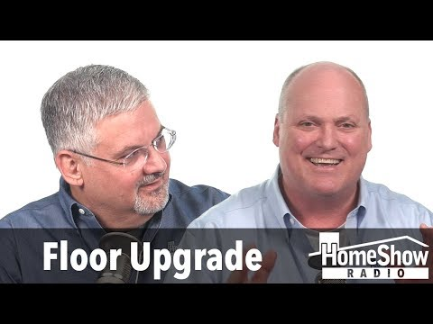What can I do about removing a floor with tar underlayment?