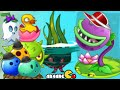 Plants Vs Zombies 2 Big Wave Beach Every Plant New Costume N