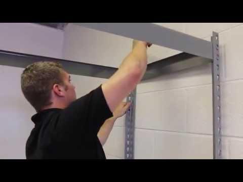 How To: Assemble Boltless Rivet Shelving - WH1