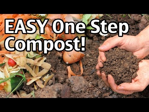 EASY One Step Compost!