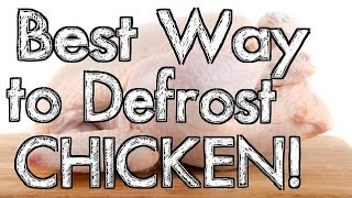 Best Way To Defrost Chicken