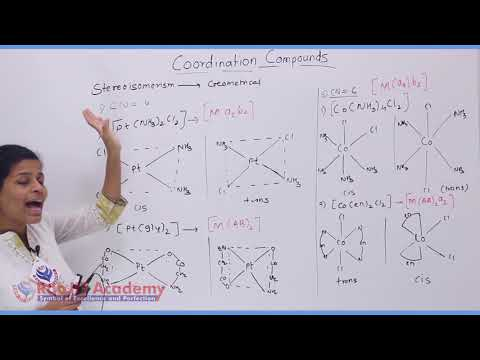 Coordination Compound Chemistry Part-4 std 12th HSC Board Video Lecture BY Rao IIT Academy