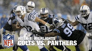 Colts vs. Panthers | Week 8 Highlights | NFL