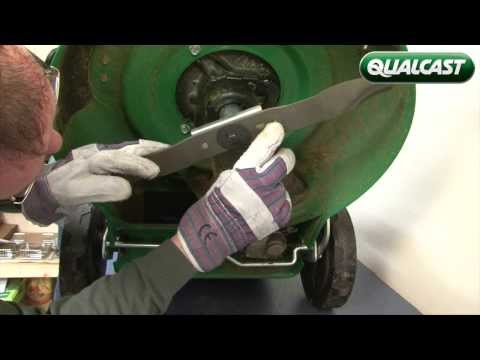 How to change the blade on your Qualcast petrol lawnmower