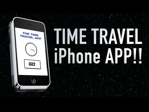 UNBELIEVABLE - New Iphone 7 App for TIME TRAVEL!