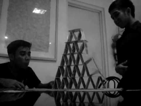 Best way to make Tower using Playing Cards