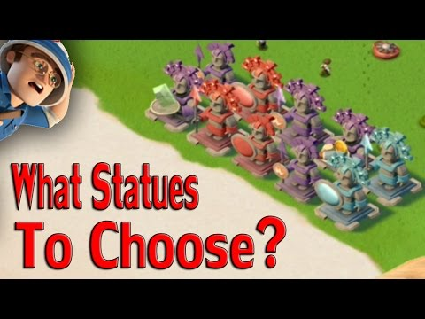 What Statues Should You Be Using? | Boom Beach Tips/Tricks