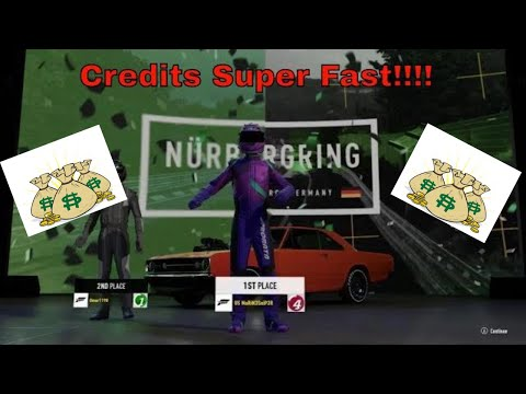 FORZA 7- HOW TO EARN ALOT OF CREDITS