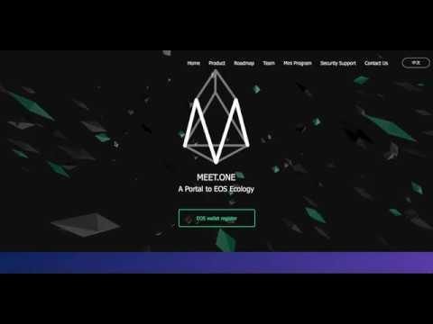 Meet.one EOS Kit for EOS platform | EOS Airdrop