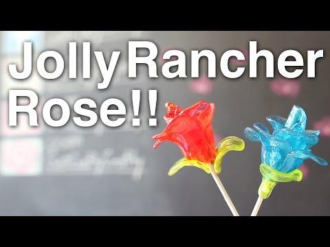 DIY Edible Jolly Rancher Rose!! + Announcements!!