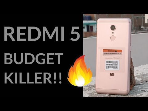 📲 REDMI 5 UNBOXING AND HANDS ON | 💣 NEW BUDGET KILLER BY XIAOMI !!