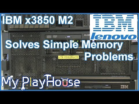 IBM/Lenovo x3850 M2 Memory Error,, Piece of Cake - 689