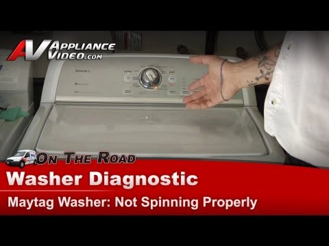 Washer not spinning or draining - Maytag, Whirlpool,Roper,Kenmore, Sears, Amana repair