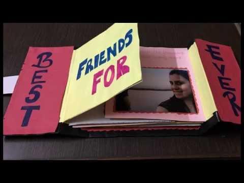 DIY - Photo Album / Friendship Day Gift