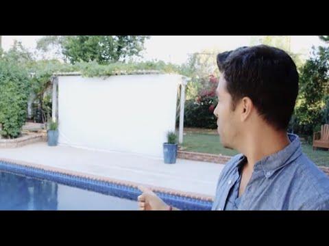 Build an Outdoor Movie Screen