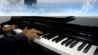 Pehla Nasha Pehla Khumaar | Jo Jeeta wohi Sikandar | Piano cover by Naresh Vaswani