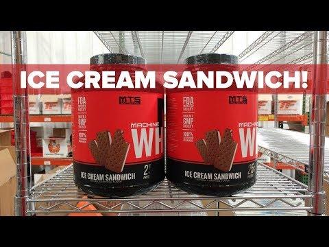 MTS Whey Ice Cream Sandwich Week - Save 20%!
