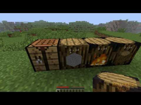 Minecraft Mod Review: Barrels Mod