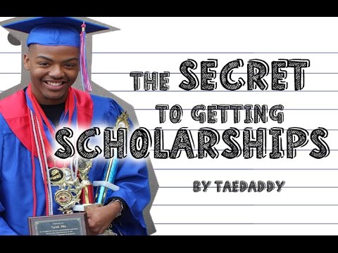 The Secret to Getting Scholarships! How I got a FULL RIDE! By Tarek Ali