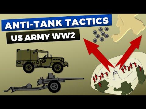 US Army Anti-Tank Company - Tactics & Organization - World War 2