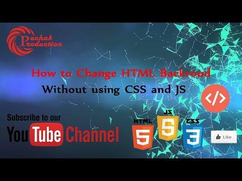 html background color beginner tutorial