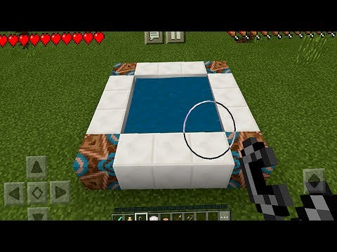 How to Make a Notch Portal in Minecraft Pocket Edition