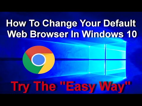 How To Set Google Chrome as Default Web Browser In Windows 10 and 8.1