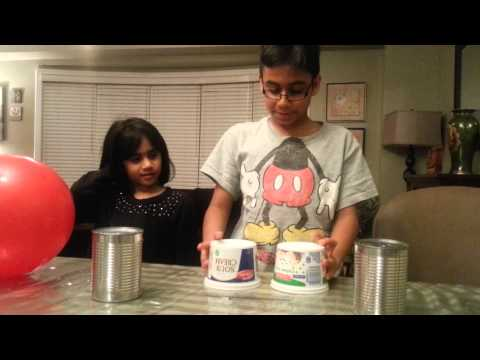 4th Grade Science Fair Project: Static Electricity Bell