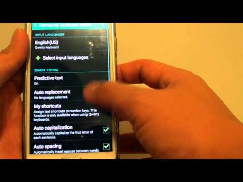 Samsung Galaxy S5: How to Reset Keyboard Settings back to Default