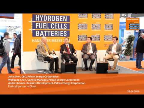 Fuel cell partner in China