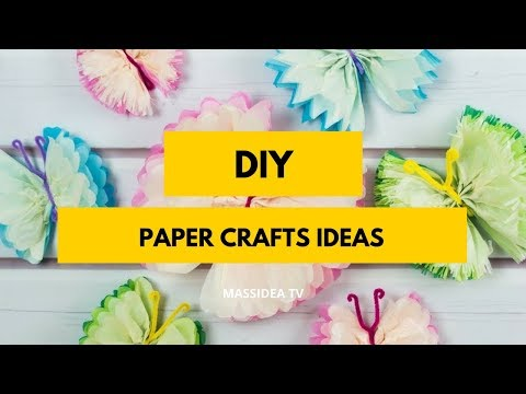 45+ Best DIY Paper Crafts Anyone Can Make It!