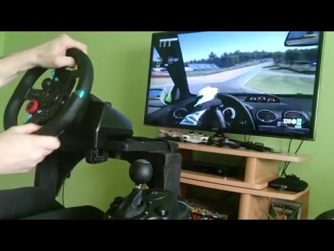 Practice run [PS4]ProjectCars with Logitech G29 wheel [H-pattern shifter + clutch]