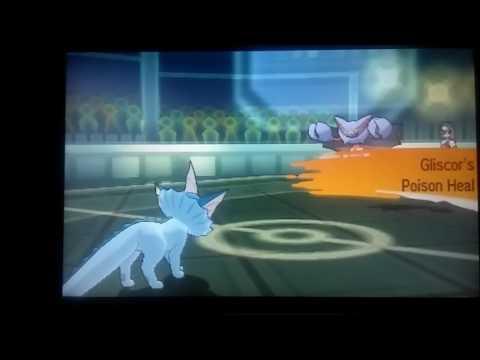 Pokémon Sun: Cheap Gliscor Strategy: Substitute, Protect, Poison Heal, Repeat(Battle Spot)