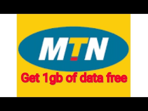 MTN Awoof! - learn how to activate 1gb of data for free