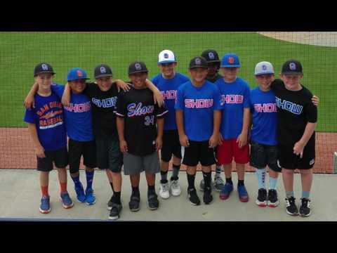 San Diego Show's USA Baseball Experience