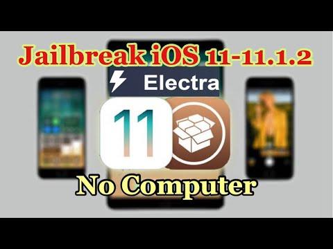 How to Jailbreak iOS 11-11.1.2  (NO COMPUTER) Electra JAILBREAK (iPhone, iPad, iPod)