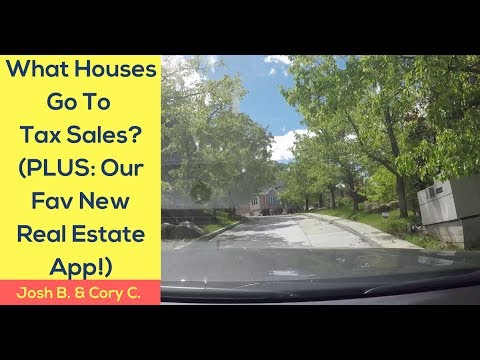 What Houses Go To Tax Sales? (PLUS Our Favorite New Parcel Finder App!)