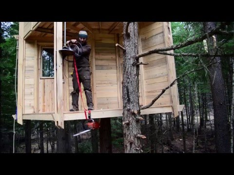 How To Cut Down A Tree… Using a Treehouse.