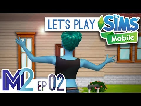 Sims Mobile Let's Play - House, Career, Romance! (Episode 2)